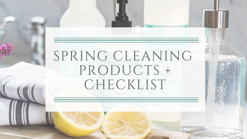 Best Spring Cleaning Green Products + Checklist