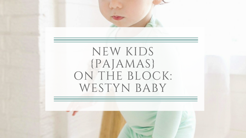 Toddler in green long sleeve Westn Baby Pajamas
